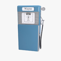 cold gas pump 3d model