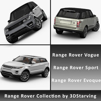 3ds car range rover