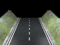 cinema4d fragment road