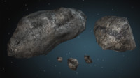 3ds max asteroids meteoroids