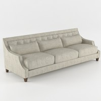 Baker Max Sofa - Tufted