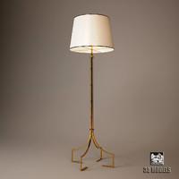 baker classic lamp 3d model