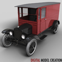 3ds max tt delivery van