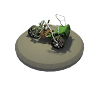 3d model mountain buggy