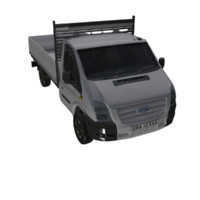 dxf br cargo truck