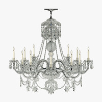 ralph mayfair chandelier 3d max