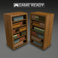 real-time book shelf 3d ma