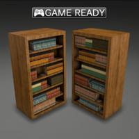real-time book shelf 3d ma