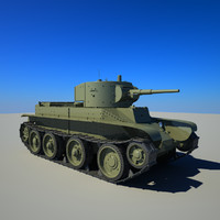 3d vehicle bt-5 model
