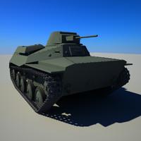 3ds soviet tank t-30