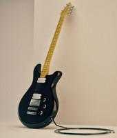 c4d original electric guitar