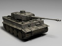 3d german tank tiger