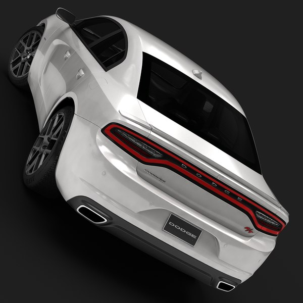 3d 2015 dodge charger interior model - 2015 Dodge Charger (Low