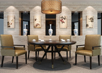 maya modern oriental dining room