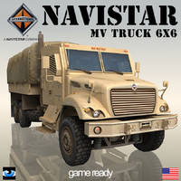 3ds navistar 7000 mv 6x6