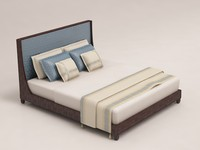 barbara barry graceful bed 3d model