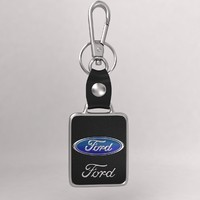 3d model realistic car key chain