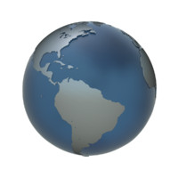 3ds max globe earth