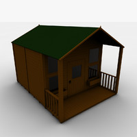 childrens playhouse 3d model