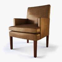 designer host dining chair 3d model