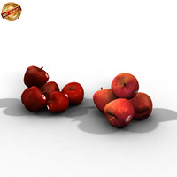 3d model apples tree