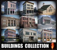 Buildings collection 1