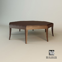 3d max christopher octaèdre coffee table