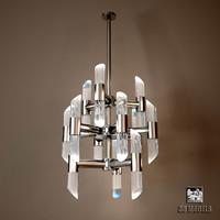 3d obj visionnaire chandelier harlock