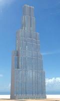 3d model skyscraper nr 13