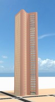 3d model of skyscraper nr 23