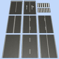 3ds max road mht-01 2 lane