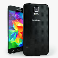 samsung galaxy s5 mobile phone 3d 3ds