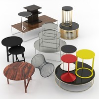 modern coffee table 3d obj