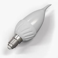 led lamp bulb 3d max