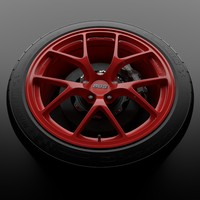 maya red bbs fi wheel