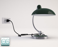 lamp kaiser idell 3d 3ds