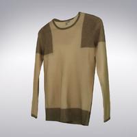 3dsmax men s cashmere sweater