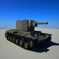 kv-2 kv 2 3d model