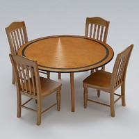 Chair & Table Set 10