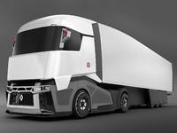 renault concept truck 3d model