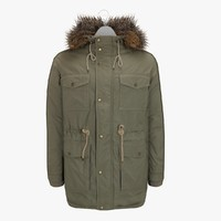 Men's Winter Coat 9 On A Hanger
