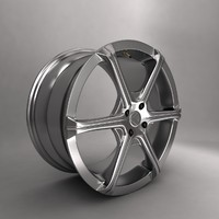 3d model kleemann car alloy logo