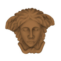 3ds relief medusa