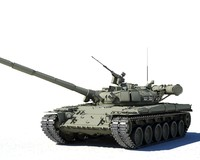 3d t-80b main battle tank