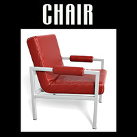 3d model chair interiors