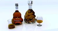 3d model brandy