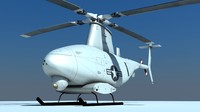 mq-8 scout helicopter 3ds