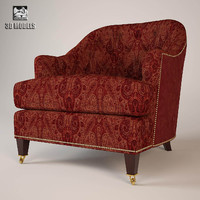 3d armchair baker 6357 model