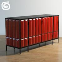 3d lava cabinet