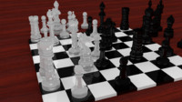 blender chess
